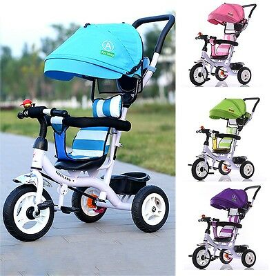New Baby Strollers Children Tricycle Foldable Umbrella Pram With Storage Holder