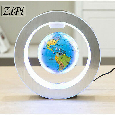 Levitation Floating Globe Rotating Magnetic Mysteriously Suspended In Air World