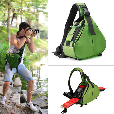 Waterproof DSLR SLR Camera and Accessory Backpack Sling Bag for Canon Nikon Sony