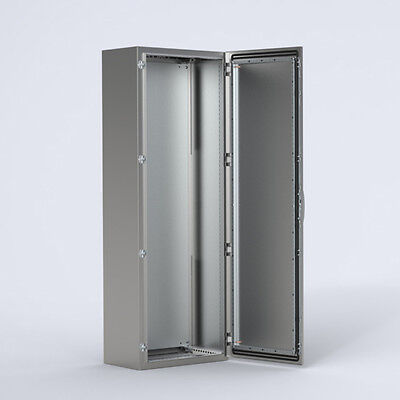 Stainless Electrical Cabinet Swichboard Floor Enclosure - 2000 x 1000 x 400