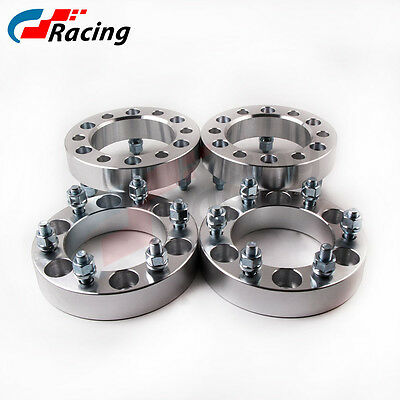 (4) 35mm 6 Stud 6x139.7 M12x1.5 Wheel Spacer for Hilux Pajero Triton Dmax Ranger