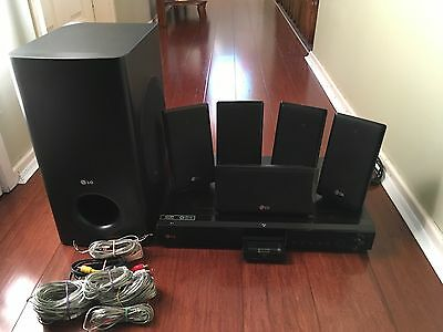 LG Blu-Ray Home Theatre System With Full HD 1080p resolution