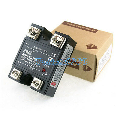Solid State Relay DC-DC 3-32V DC / 5-250VDC Output 10A 25A 40A Single Phase SSR
