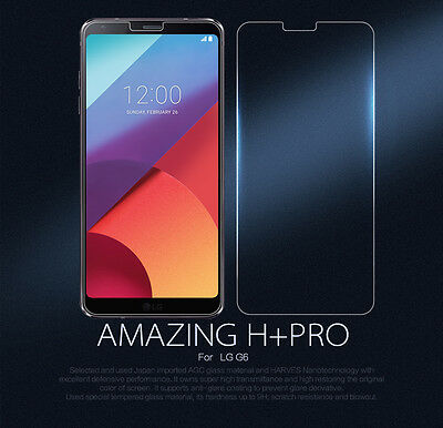 Real Nillkin H+Pro 9H Anti-Explosion Tempered Glass Screen Protector For LG G6