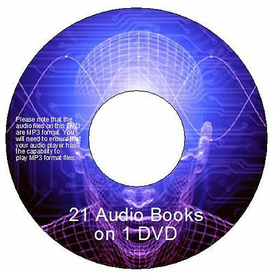 21 Audiobooks on DVD James Allen, Napoleon Hill, Earl Nightingale plus many more