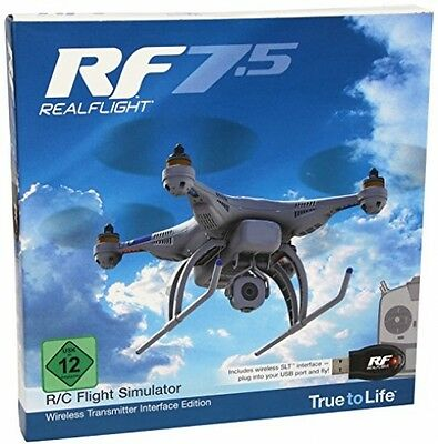Great Planes RealFlight GPMZ4534 RealFlight 7.5 Wireless Interface Edition Toy