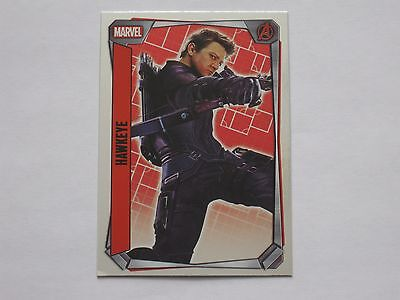 Topps MARVEL MISSIONS trading cards MIRROR FOIL Number 238 Hawkeye