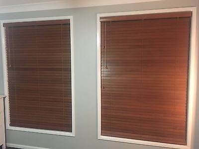 timber Venetian blinds - Various Sizes