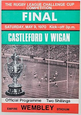 Rugby League 1970 Challenge Cup Final Programme & Singalong  Songsheet