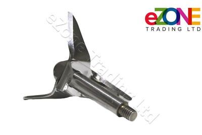 Waring Bar Blender Mixer Blade and Shaft Cutting Set Stainless Steel T438 F229