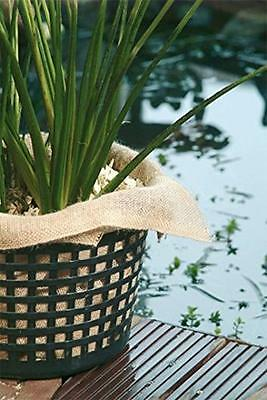 Hessian Squares POND Planting Baskets Container Pot LINING For Aquatic Compost