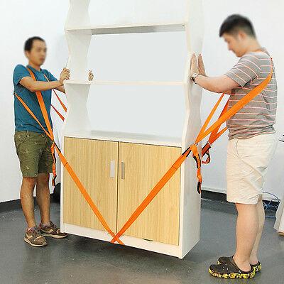 2pcs Shoulder Lifting and Moving Straps 2.7m for Carrying Furniture,  Mattresses
