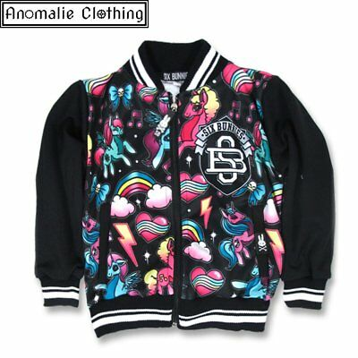 Six Bunnies Unicorns Kids Jacket