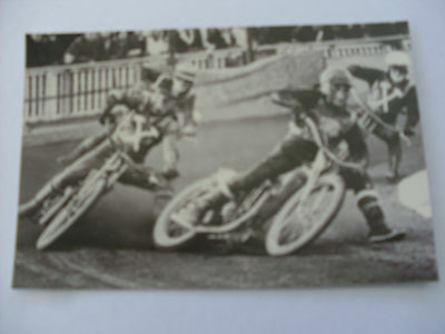 Speedway Photograph--West Ham v Oxford action  (365)