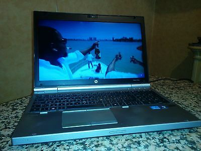 HP EliteBook 8560p Notebook Intel Core i5 , 2,6 GHz 4 GB RAM 320 GB HDD Win 7 FR