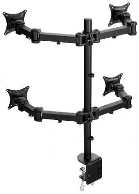 Lavolta Monitor Mount For LCD LED TV Screen Display With Fully Adjustable Arms