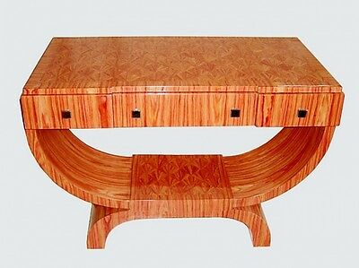 SUPERB Parquetry Rosewood Art Deco style desk