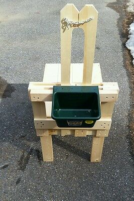 Large Goat Milking Stand Non Pressure Treated