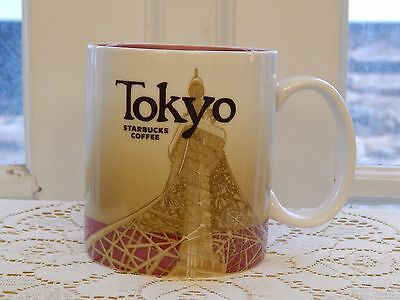 Rare Discontinued TOKYO Starbucks Global Icon Collector Series Coffee Mug 2009