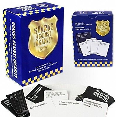 BRAND NEW Cards Against Humanity Guards Edition Naughty 5th Expansion Pack Party