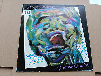 Single Promo Electrica Dharma - Que Be Que Va - Pdi Spain 1991 Vg+