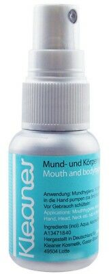 Kleaner - Mouth & Body Hygiene - Cleans and Protects - 30ml