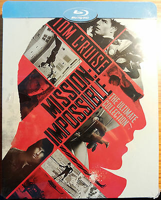 Mission Impossible - The Ultimate Collection - Blu-Ray Steelbook Nuovo Italiano