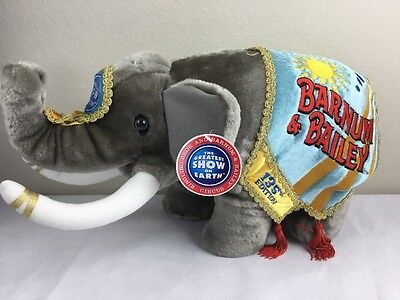 Ringling Brothers Barnum And Bailey Circus 135th Limited Edition Elephant Plush