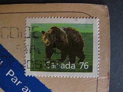Briefmarke Sammler Grizzly Bear 76 Cent Canada BM003