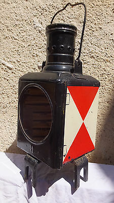ancienne lampe LANTERNE  locomotive chemin de fer TRAIN sncf  reservoir