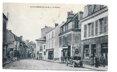 Athis Mons - La Place - Carte Animee