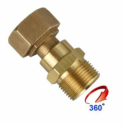 DUSICHIN DUS2222 Gun-hose Brass Swivel Joint, For Pressure Washer Hoses 15mm