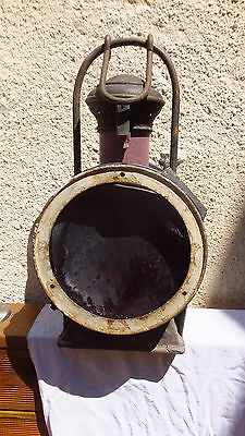 ancienne lampe LANTERNE  locomotive chemin de fer TRAIN sncf  -1095- reservoir