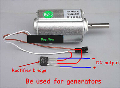 Wind Generator Permanent Magnet Motor (Fast Shipping)
