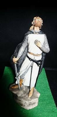 """The Crusades 354-A Crudader Knight Figurine Madrigale Collection 7"""" Italy 1997"""