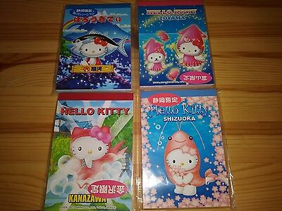 Hello Kitty Regional Japan Gotochikitty memo pad lot