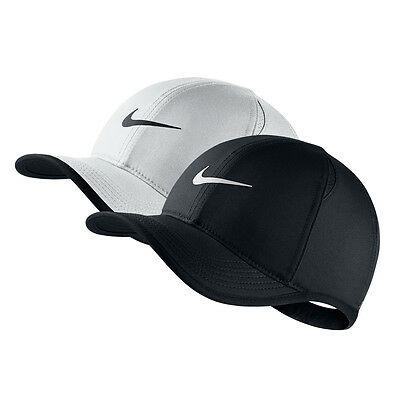 NWT NIKE Boy Girl Kid Youth Feather Light Dri-Fit Hat Cap BLACK or WHITE