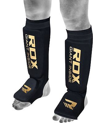 RDX MMA Shin Instep Foam Pad Support Boxing Leg Guards Foot Protective Gear K...