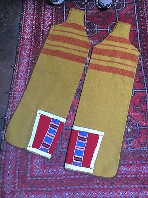 Antique Crow Indian Native American Leggings Early 20th Century