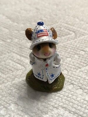 Wee Forest Folk M-180 4th of July Limited Ed April Showers