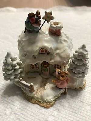 Wee Forest Folk M-311 A Cottage for All Seasons--Winter