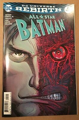 All Star Batman #2 First Print Snyder Romita Dc Comics Rebirth New Unread