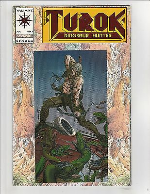 Turok, Dinosaur Hunter (1993) #1 VF/NM 9.0 Valiant Comics Bart Sears,Chrome