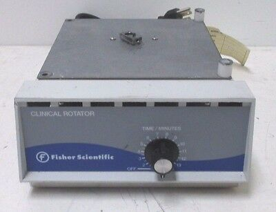 a46 Fisher Scientific Clinical Rotator 341 Mixer Shaker Stirrer