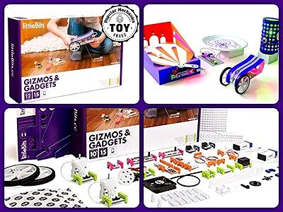 littleBits Electronics Gizmos & Gadgets Kit 680-0007  *NEW* - SEALED!!!