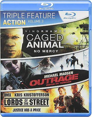 Blu-ray - Action - Caged Animal - Outrage - Lords of the Street - Ving Rhames