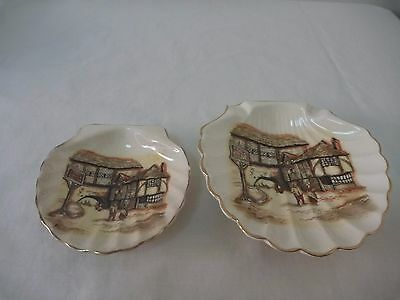 Lancaster & Sandland The Jolly Drover 2 scallop shell dishes
