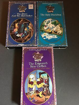 Timeless Tales Lot - Hanna Barbera - Elves, New Clothes & Ugly Duckling (VHS)