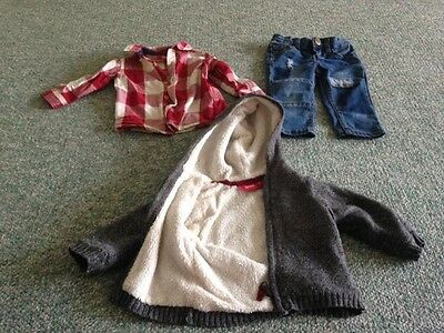 Size 0 Sprout / Jack and Milly Winter Clothes