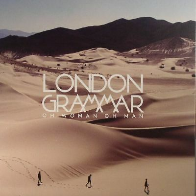 "LONDON GRAMMAR - Oh Woman Oh Man - Vinyl (limited numbered 7"")"